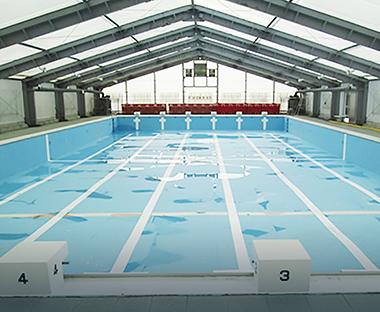 水中ドローン訓練場